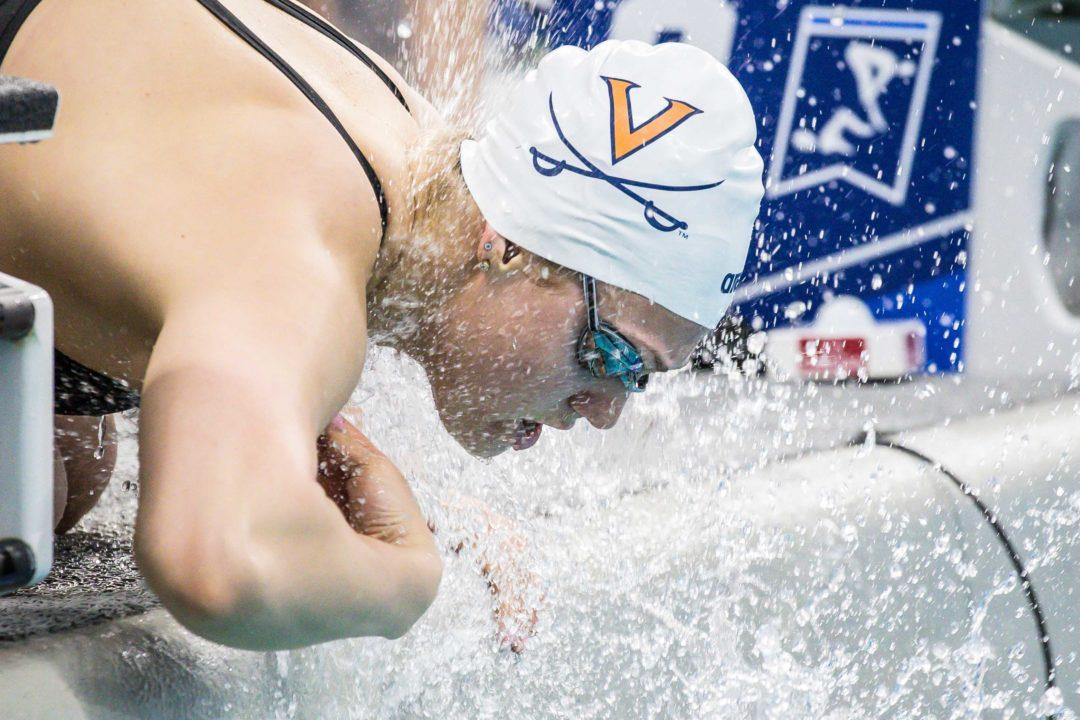 Practice + Pancakes: Virginia Swims Broken 100/200's Off the Blocks