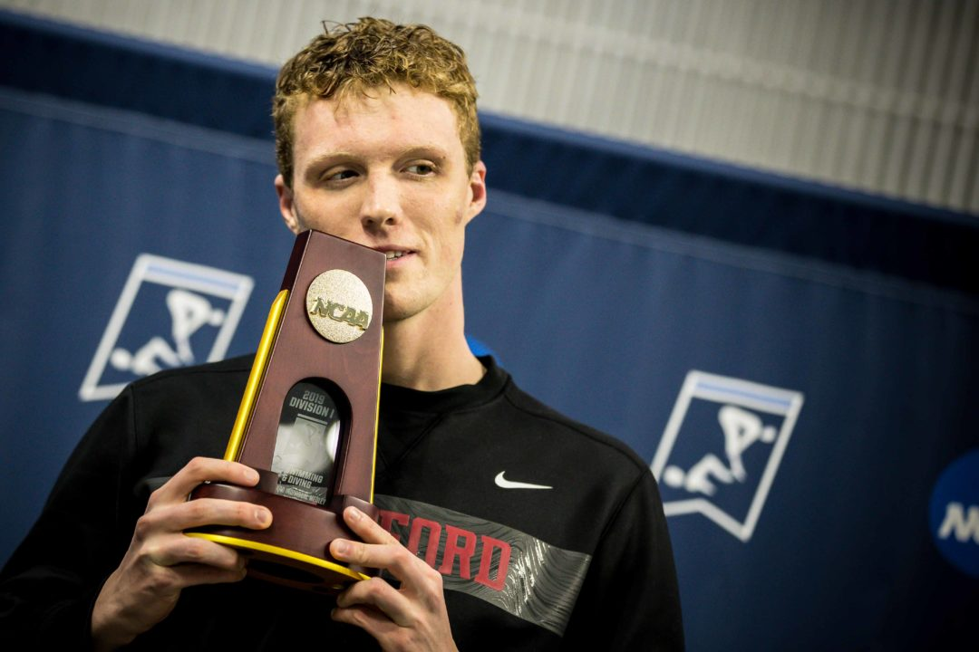 Abrahm DeVine Talks Stanford 400 IM Legacy with Ella Eastin (Video)