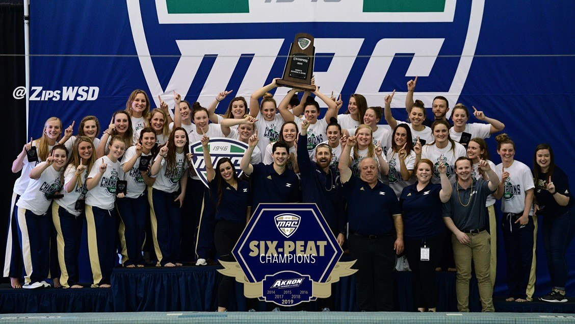 Akron, IU Take Team Leads At CSCAA Nationals Day 2