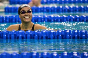 Amalie Fackenthal Goes Lifetime Best in 100 Back, Hits #3 Time in Country