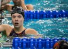Anna Hopkin Blasts 21.48 50 FR, Danny Kovac 45.81 100 Fly at Mizzou Invite