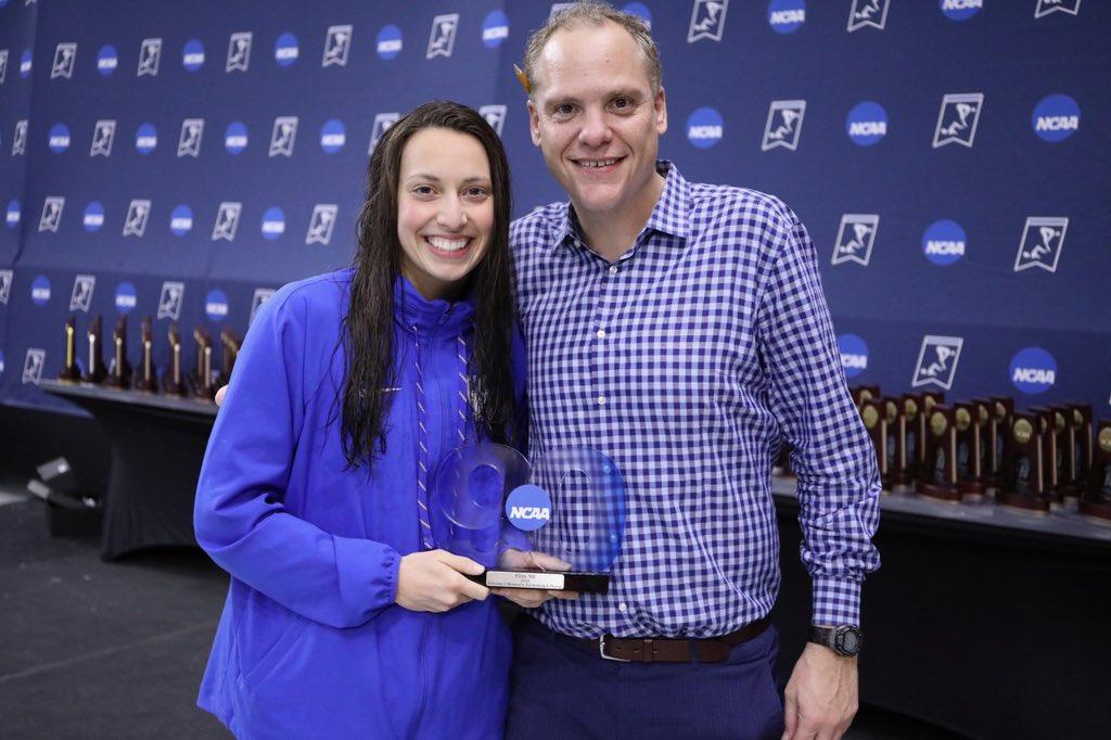 Asia Seidt Wins 2019 Women's D1 Elite 90 Award