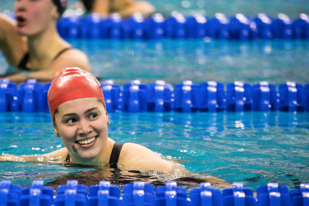 "Beata Nelson on Barn Burner 200 Back: ""That was a fun one"" (Video)"
