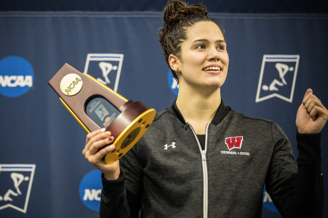 2019 W. NCAAs: Beata Nelson Wins CSCAA Swimmer of the Year