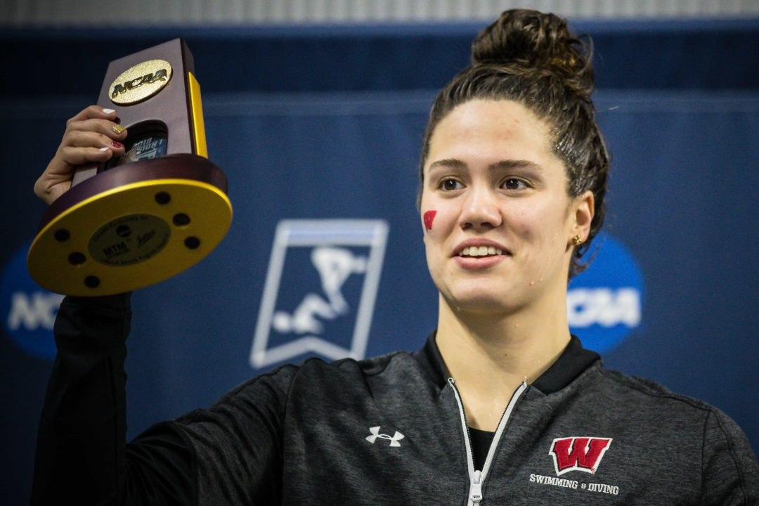 2019 W. NCAAs: Beata Nelson Rewrites Every 100 Back Record in 49.18