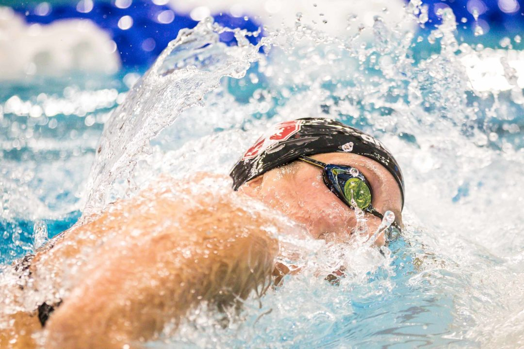 Brooke Forde Swims 4:39 500, 2:09 200 Breast at Cal/Stanford Women's Dual