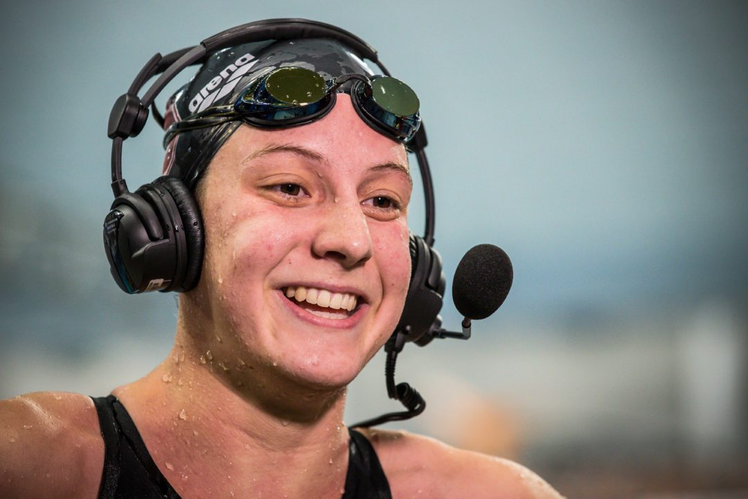 2019 W. NCAAs: Forde Drops 6+ Seconds in the 500 in 1 Day, Becomes No. 5 All-Time Performer