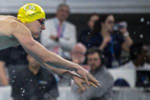 RACE VIDEO: Caio Pumputis Hits 48.4 In 100-Yard IM