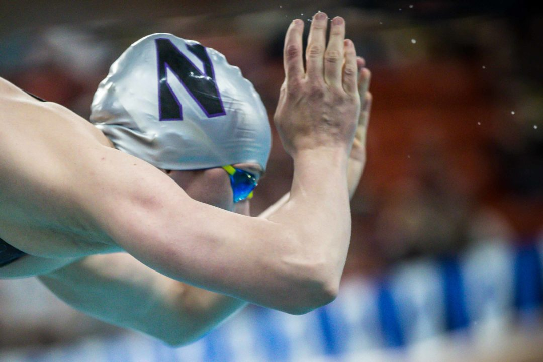 Calypso Sheridan Chooses 200 Breast over 200 Back on Day 4 of Big Ten Champs