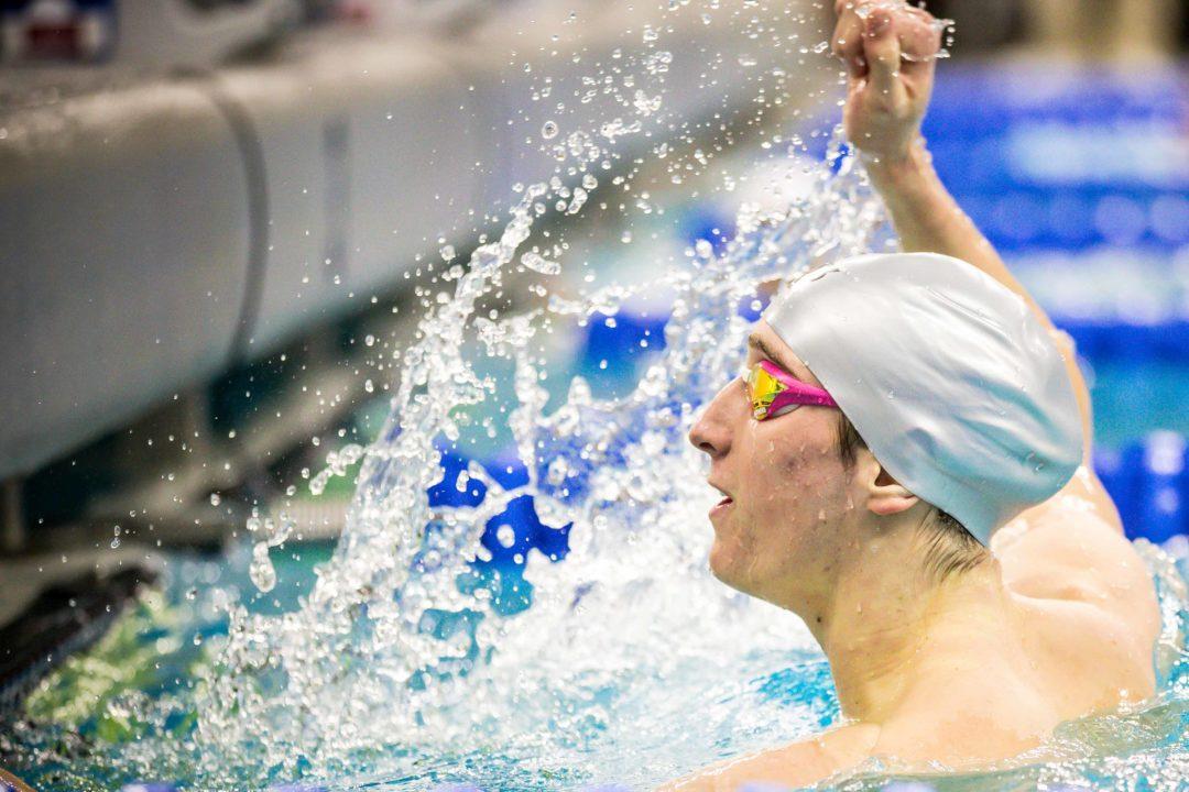 Denver's Men's 200 Free Relay Earns A-Cut, Breaks School Record in Time Trial