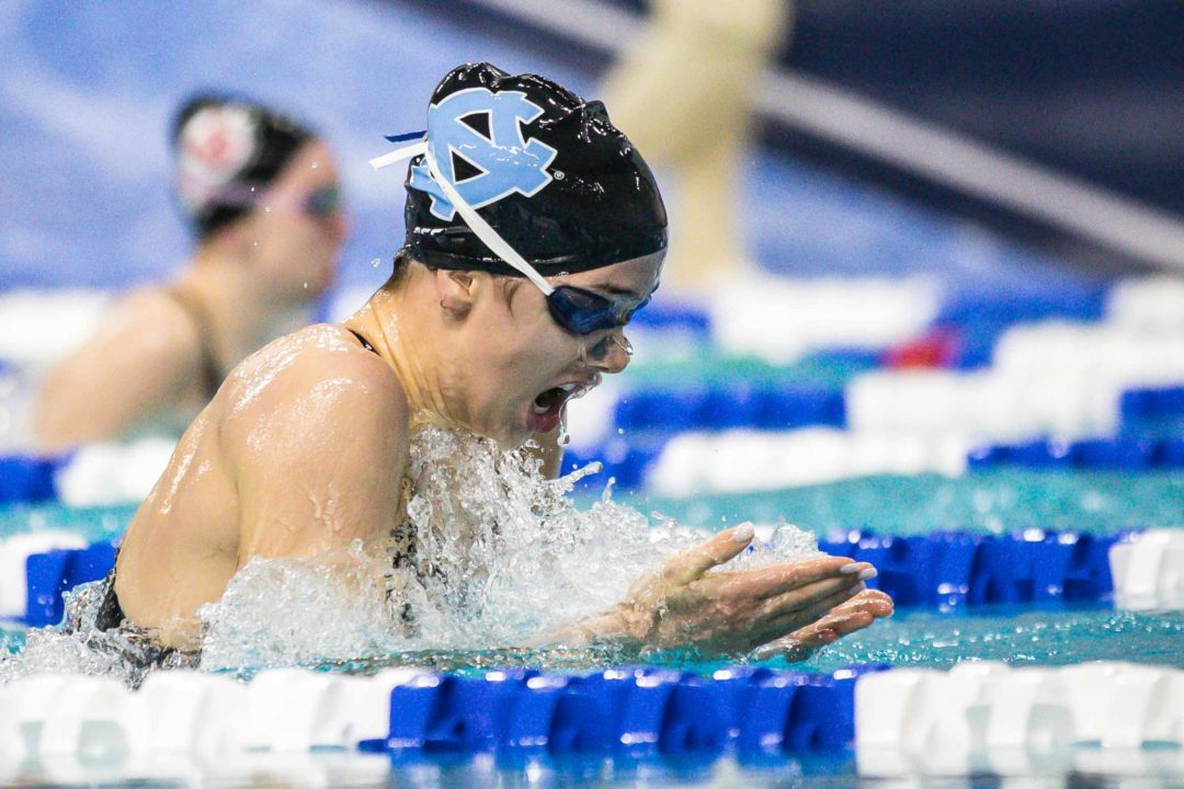UNC's Caroline Hauder Began The Season With A Torn Pec (Video)