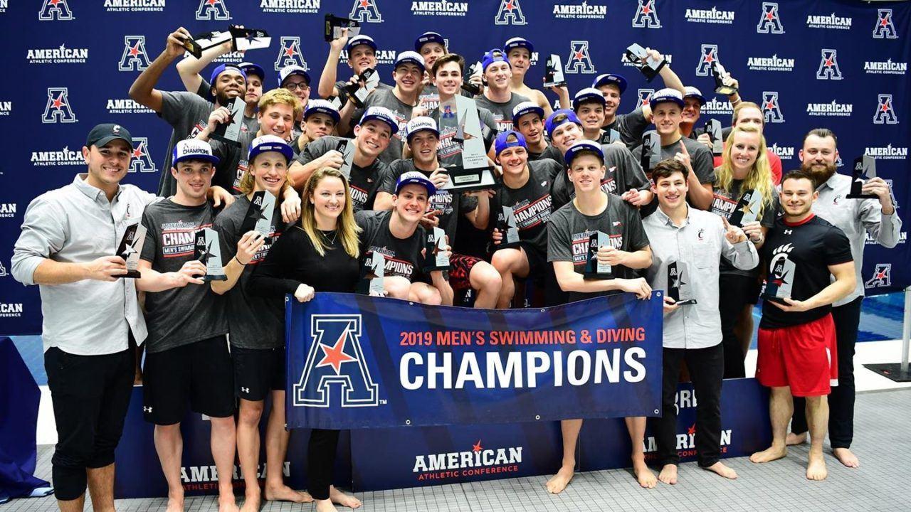 Houston Women Wrap Up 3rd-Straight AAC Title, Cincinnati Men Repeat