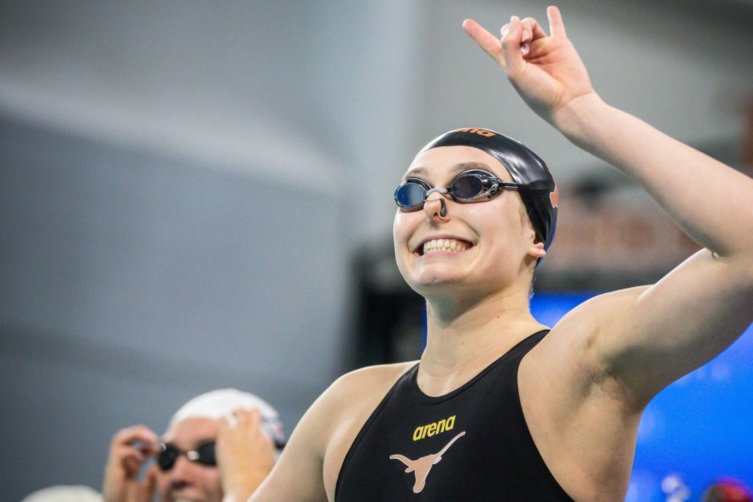College Swimming Previews: #6 Texas Women Reload with Freshman Freestylers