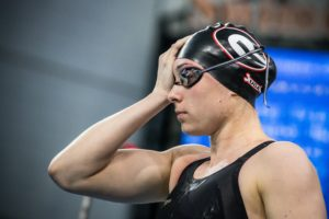 Harnish Triples, Magahey Goes 1:36.8 200 Free as UGA Flattens South Carolina