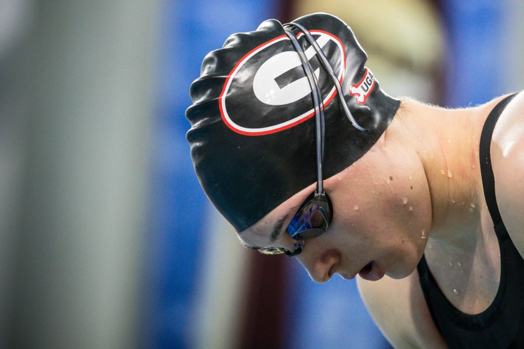 2021 Women's SEC Championships Day 1: Relay Split Analysis