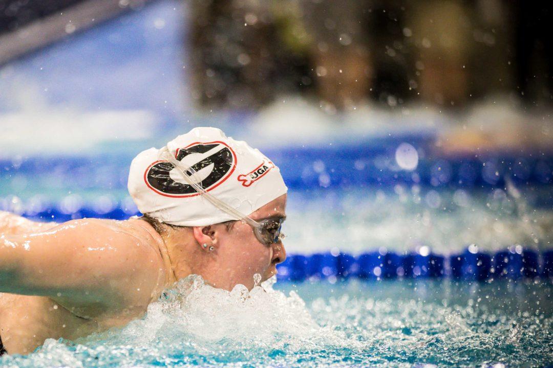 Dakota Luther Swims 2:09.2 200 Fly on 3rd Day of Texas Senior Circuit