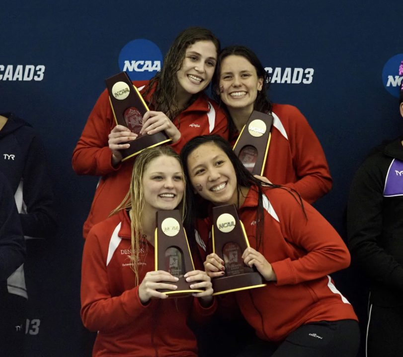 Denison Women Down 200 Medley Relay Record at 2019 NCAA D3 Championships