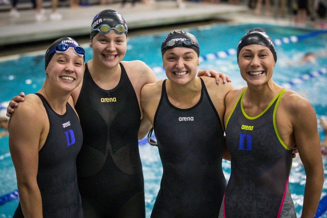 2019 W. NCAAs: Duke Women Qualify 1st Relay for NCAA Finals in Program History