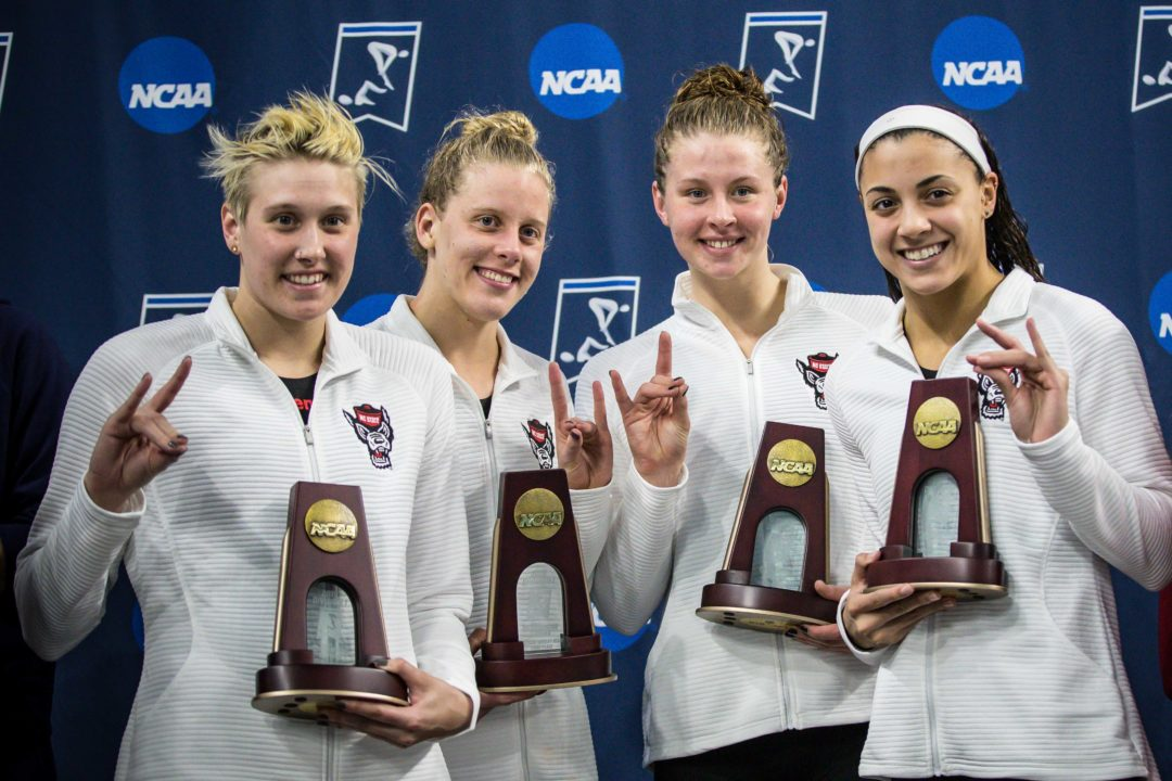 SwimSwam Podcast: Kylee Alons Recalls Epic Relays From High School, College