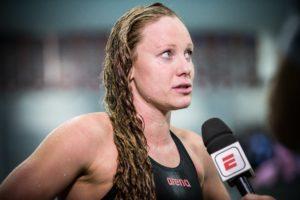 L'Americana Ella Eastin Si Ritira Dal Nuoto A Causa Di Una Disautonomia