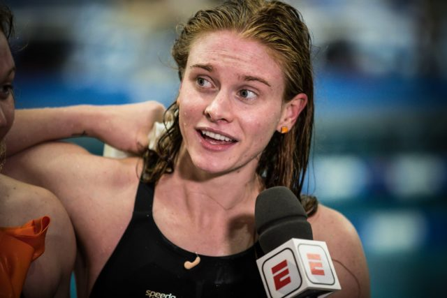 Tennessee's Erika Brown Blasts 20.5 Anchor Split on Medley Relay at 2020 SECs