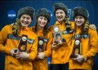 Brown and Connolly Post Season-Leading Times In Tennessee Sweep of Virginia