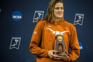 Evie Pfeifer Breaks Down Decision to Swim Another Year for Texas in NCAA
