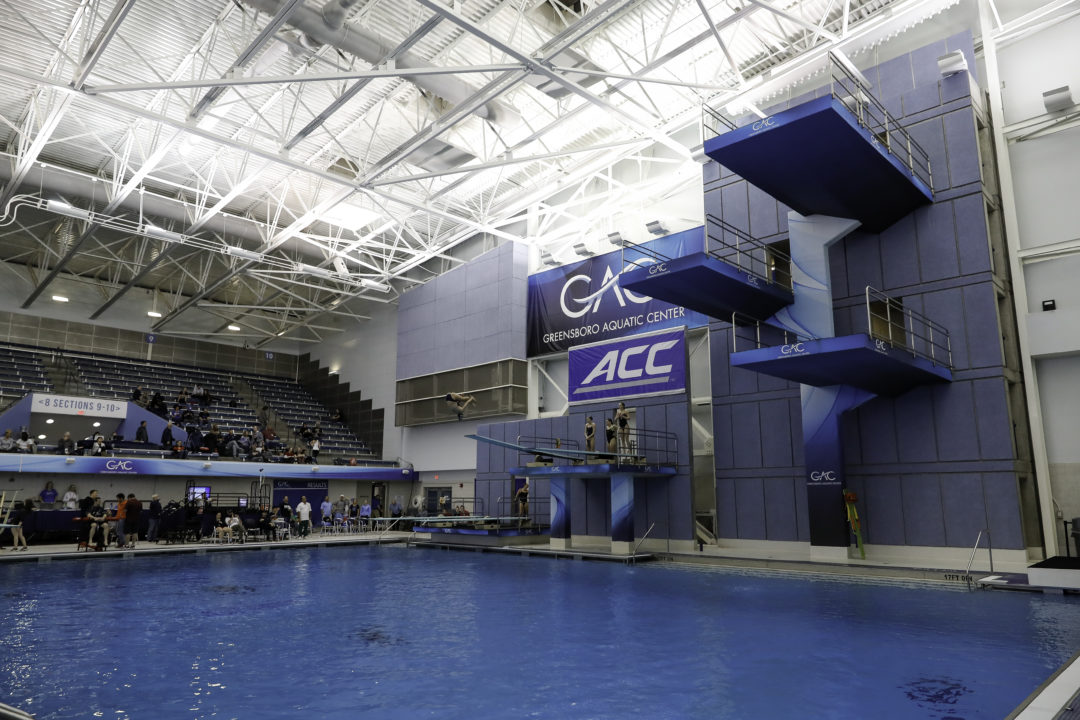 NCAA Reduces Zone Diving Qualification Spots, Sites Due To Pandemic