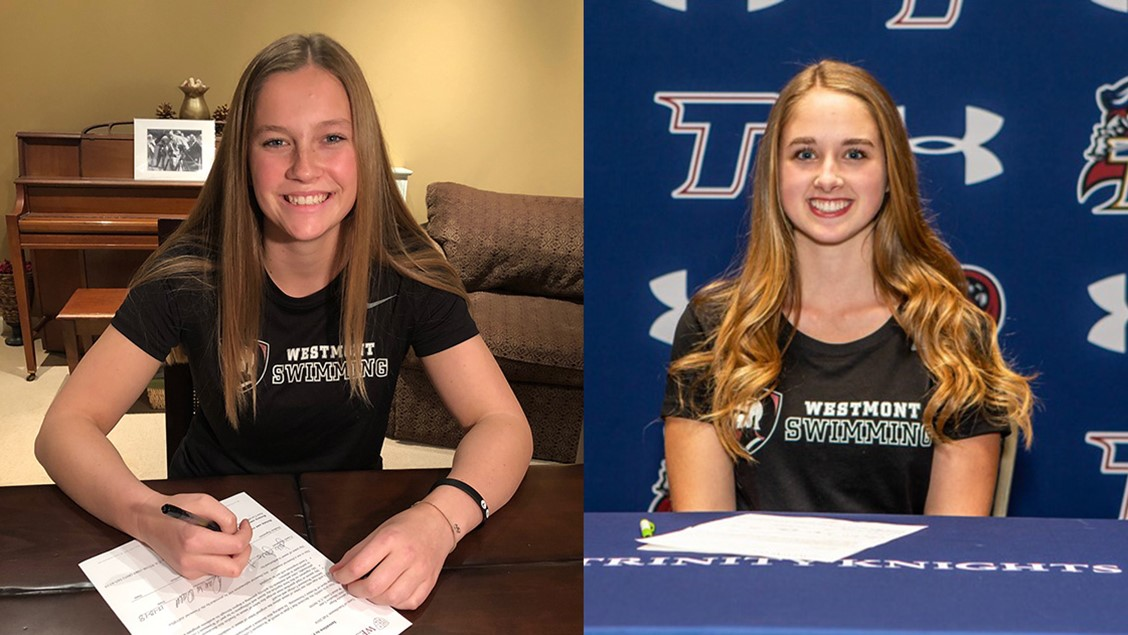 Leathers, Rego Commit to Swim for Westmont
