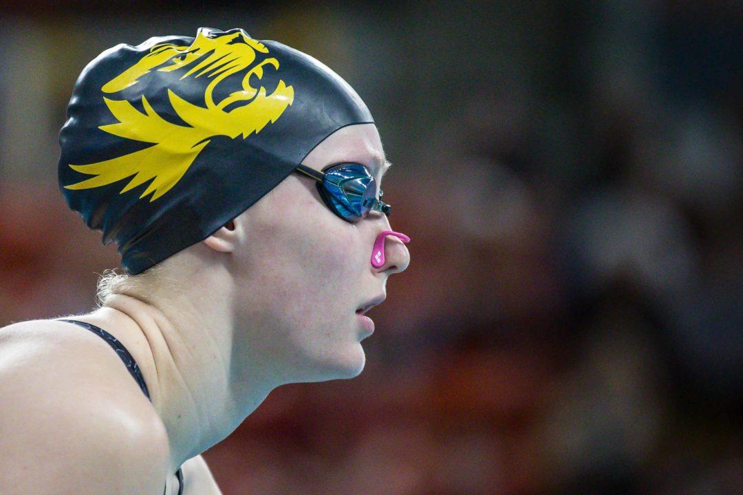 (UPDATE) Missouri's Haley Hynes, #6 in the 100 Back, Retires Ahead of NCAAs