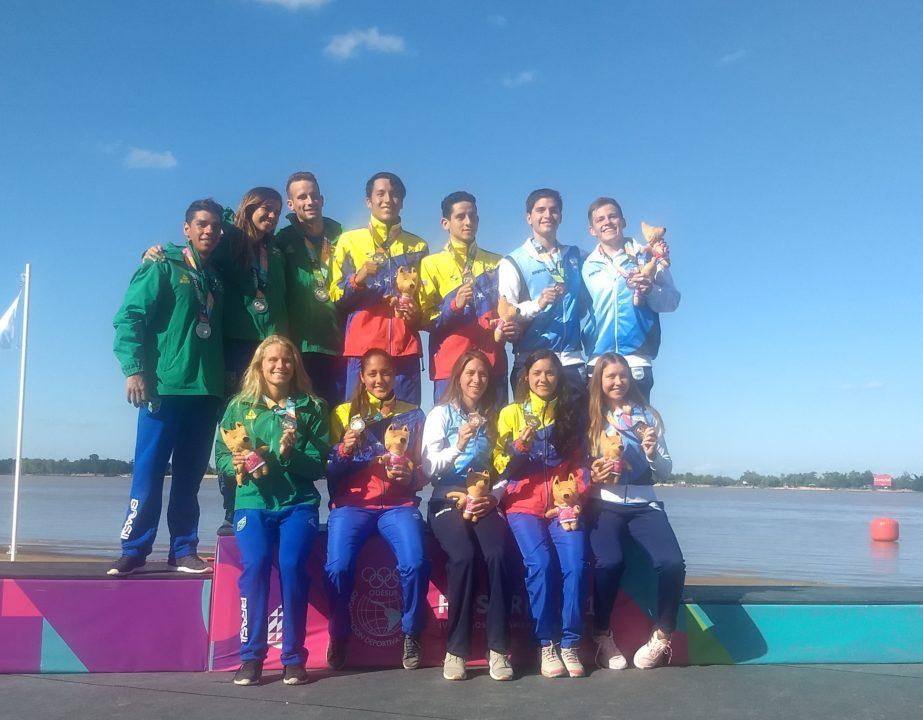 Venezuela gana el medallero de aguas abiertas en Rosario 2019