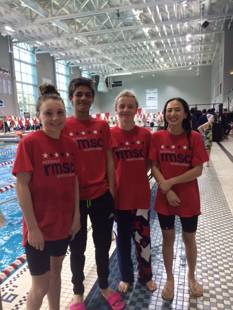 Rockville Montgomery 11-12s Down 200, 400 Free Mixed Relay NAG Records