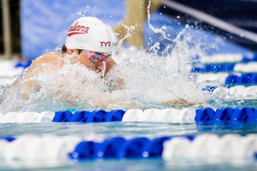 Finnerty Defends 100 BR Title, Produces 2nd Sub-50 Swim
