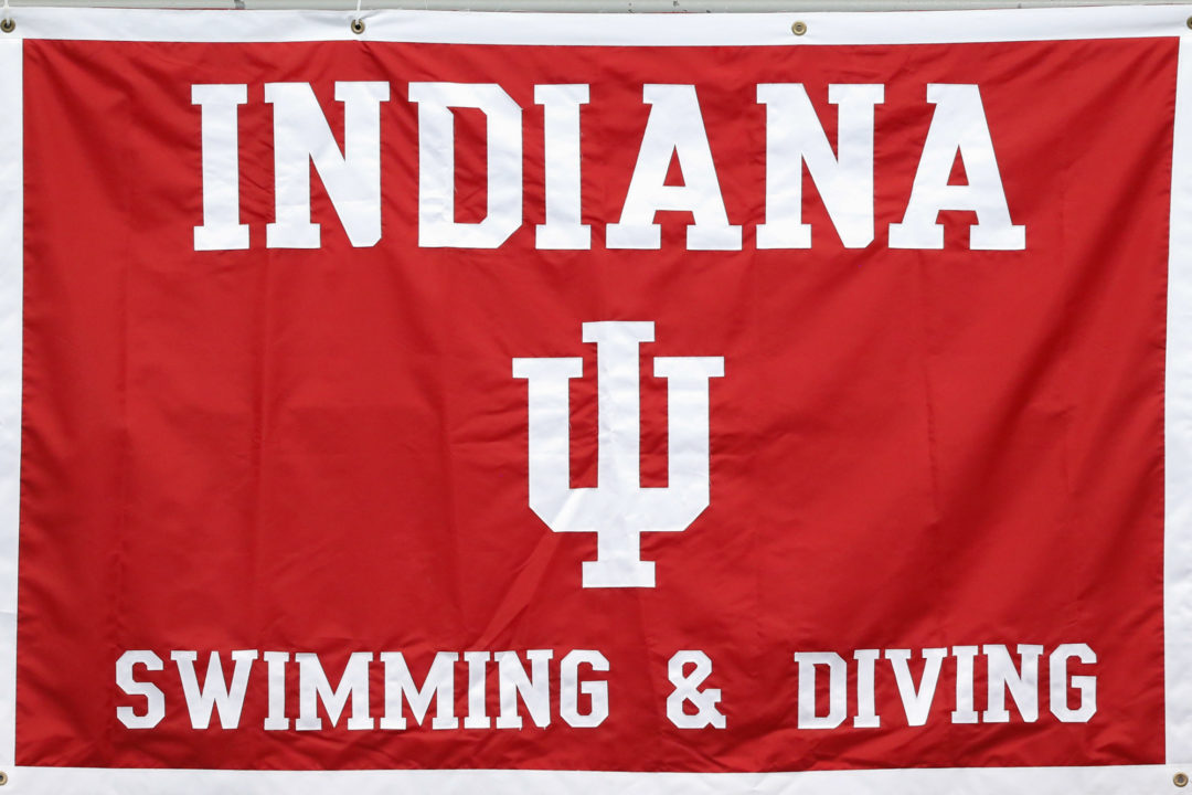 WATCH: Indiana Swim 2:52 in 400 Free Relay in a Dual Meet (RACE VIDEO)