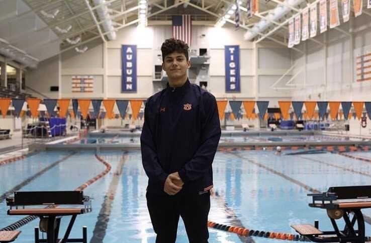 Auburn Gets Verbal From Butterfly/Backstroke Specialist Jadan Nabor