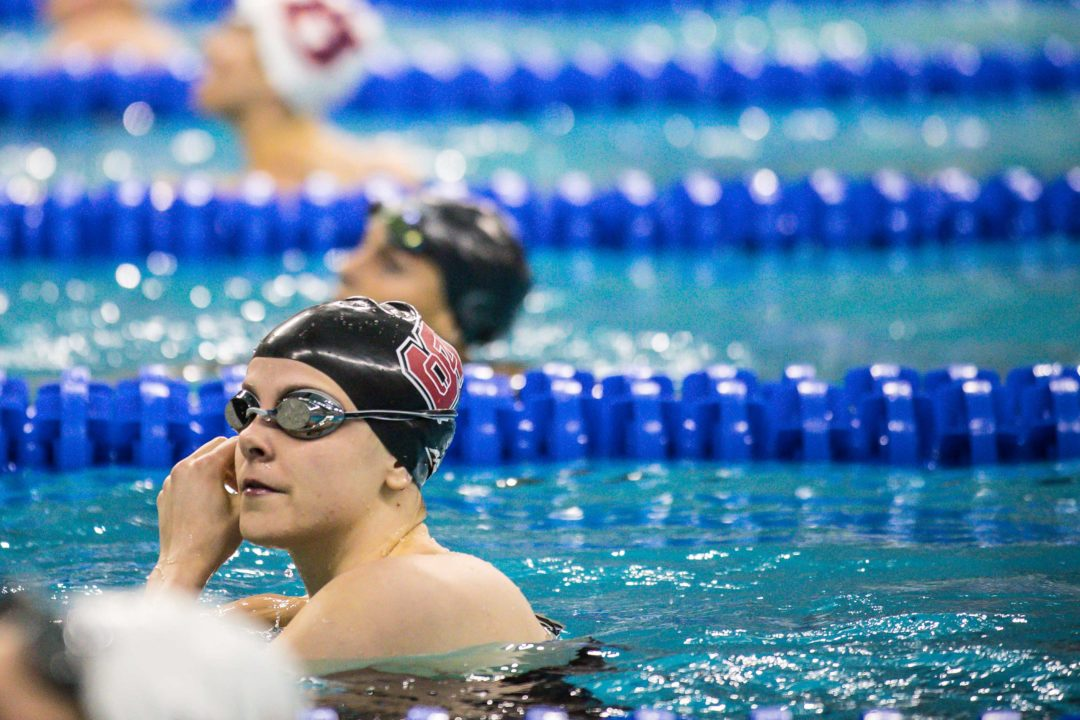 Julia Poole Back Into 400 IM For NCAAs After 200 Free Foray At ACCs