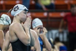 Julie Meynen Delivers New Luxembourgish 50 Free National Record at Clovis PSS