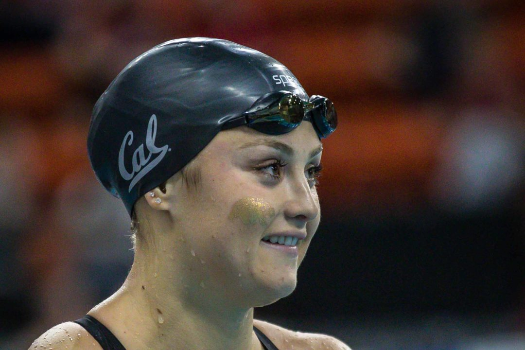 Katie McLaughlin Hits 57.7 100 Fly At Day 2 Finals In Santa Clara