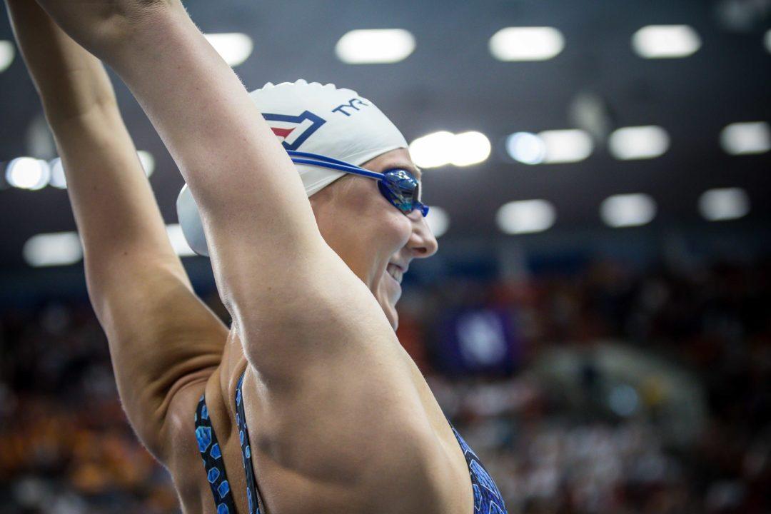 2020 W. Pac-12s: Arizona All-American Jacobsen Has Breakthrough Mile Swim