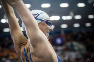2020 W. Pac-12s: Arizona All-American Jacobsen Has Breakthrough Mile Swim
