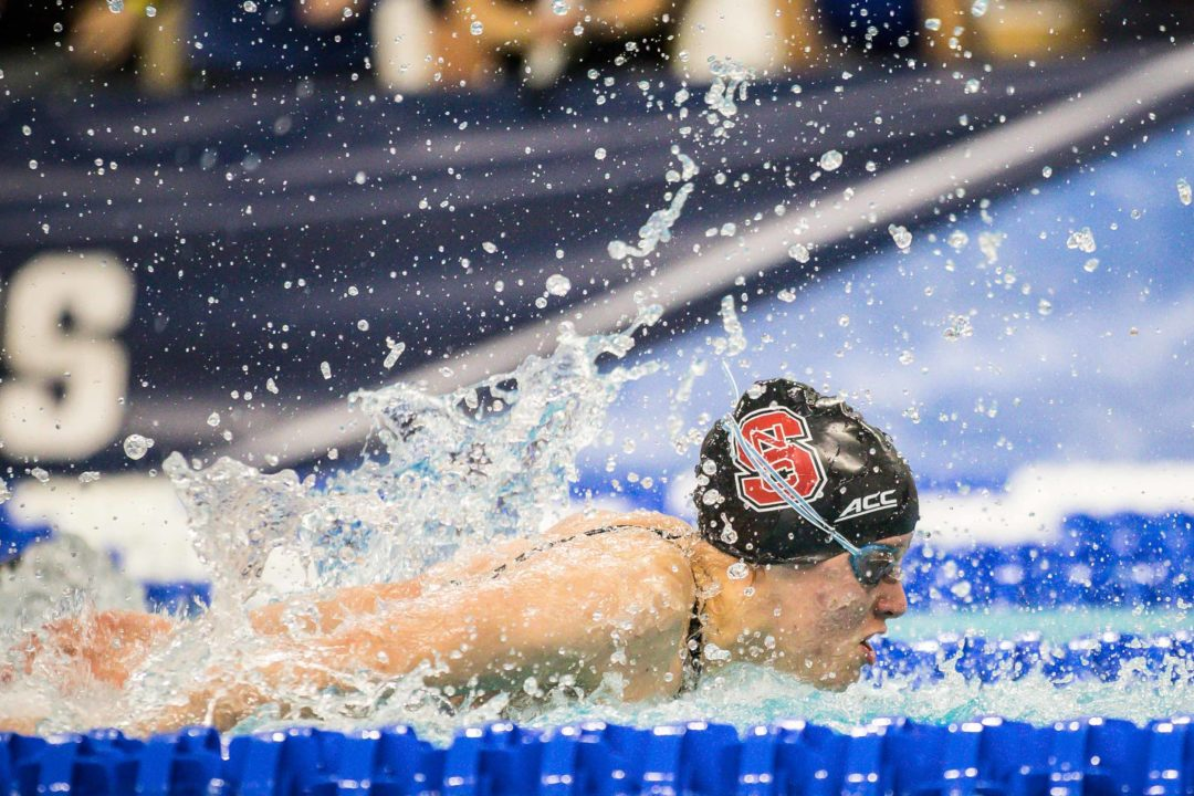 Kylee Alons Selects 100 Fly, No Backstroke At NCAA Championships