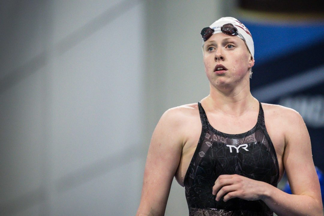 Lilly King Joins Elite Group to 4-Peat in 2 NCAA Events