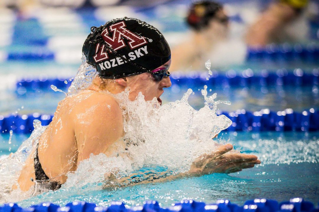College Swimming Previews: Developing Depth A Key For #8 Minnesota Women