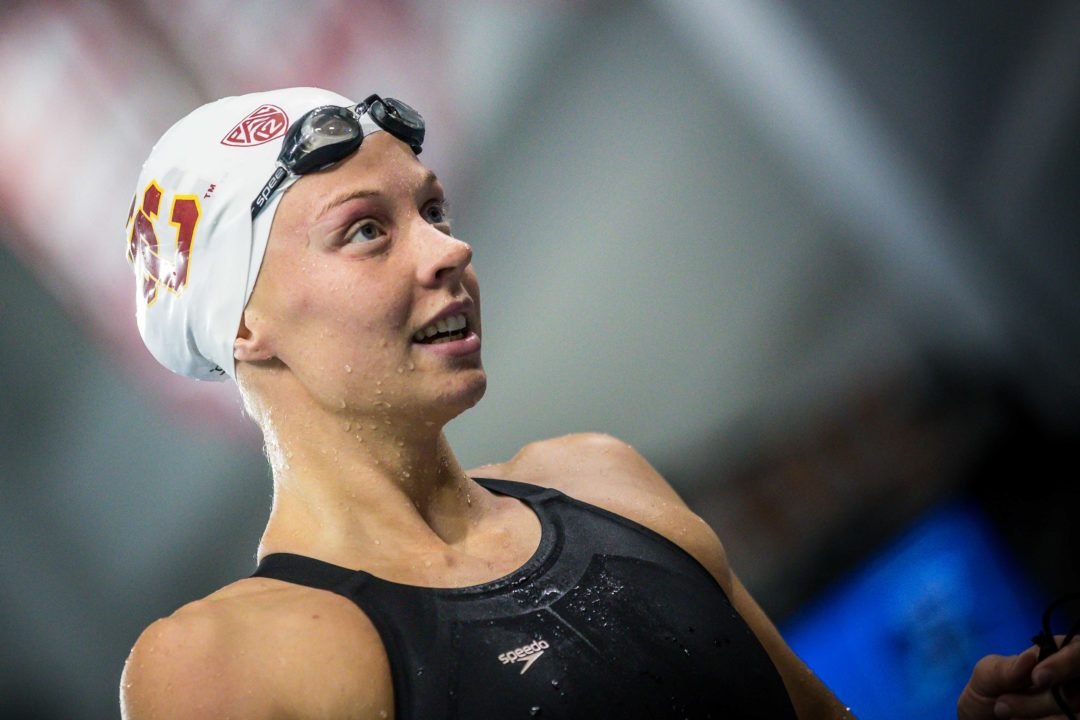 Swimming From Home: Louise Hansson on Leaving LA, Starting Grad School