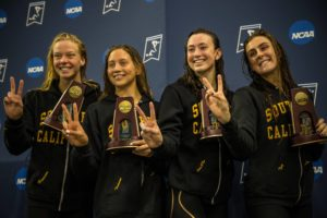 SwimSwam Podcast: USC Women on Winning Dual Meet with 8 Swimmers
