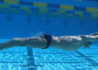 Teaching Underwater Butterfly Kick Positions