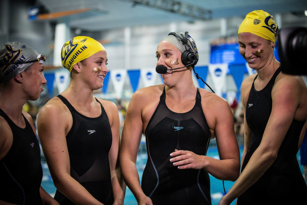 2019 W. NCAAs: Weitzeil Throws Down 20.49 for 2nd-Fastest 50 Split Ever in 200 Free Relay