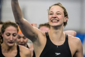 Tennessee Post-Grad Maddy Banic Swims 50.6 in 100 Yard Fly in Practice (VIDEO)