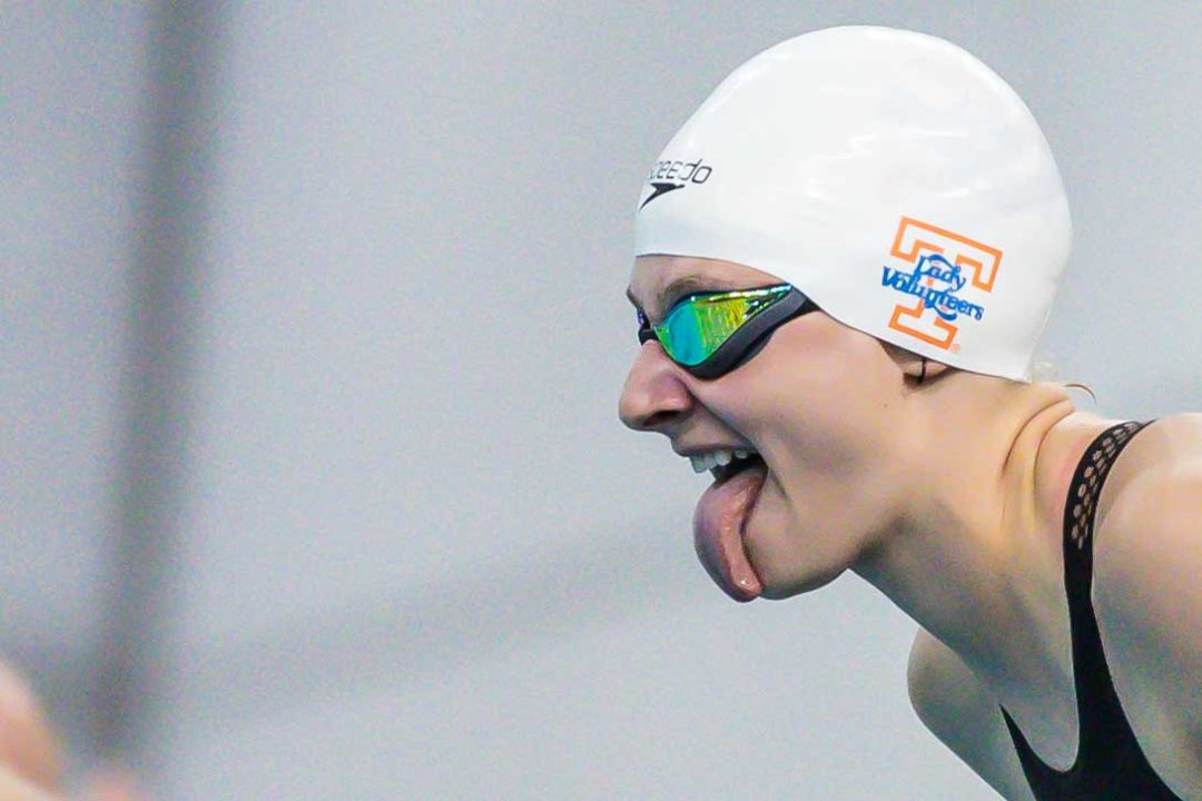 """Vols 200 Medley Relay: """"We know how hard we've worked this year"""" (Video)"""