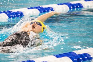 Maggie MacNeil Posts 49.76 100 Backstroke, Moves to #7 All-Time